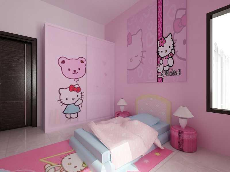 Foto inspirasi ide desain kamar tidur anak kontemporer Interior duta kencana - kids bedroom oleh sujud gunawan studio di Arsitag