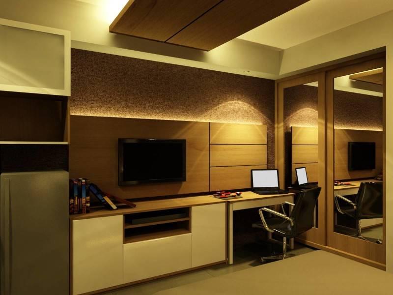Foto inspirasi ide desain ruang belajar kontemporer Study/work area oleh PT Ergonomi Cipta Karya di Arsitag