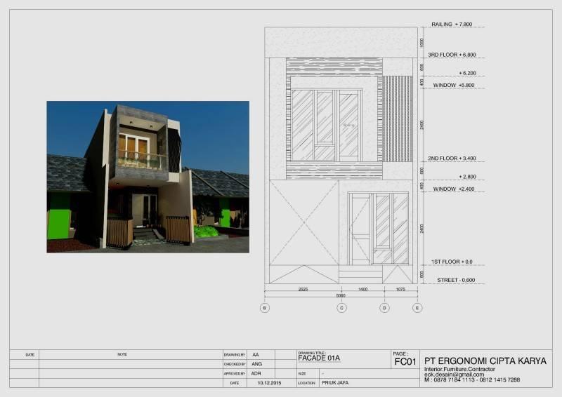 Pt Ergonomi Cipta Karya Private Residence Priuk Jaya Priuk Jaya Priuk Jaya Tampak  7450