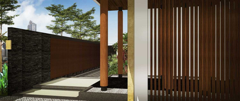 Hendra Budi Architect Privat House Tangerang Tangerang Tangerang Front Area Modern 16896