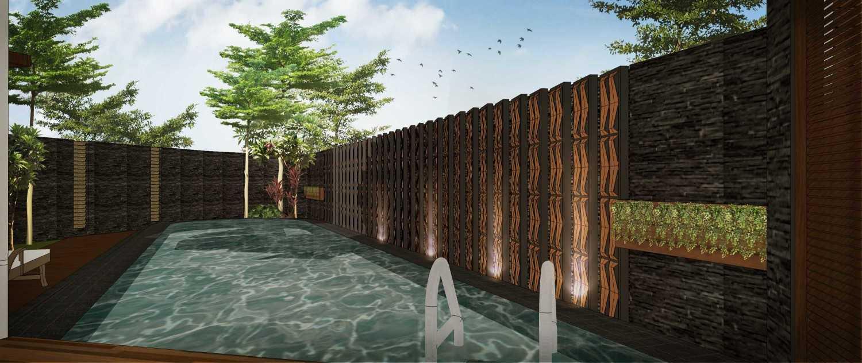 Hendra Budi Architect Privat House Tangerang Tangerang Tangerang Swimming Pool Modern 16900
