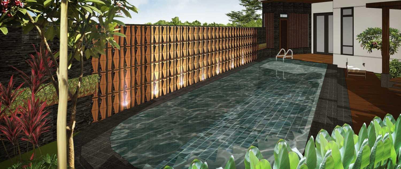 Hendra Budi Architect Privat House Tangerang Tangerang Tangerang Swimming Pool Modern 16901
