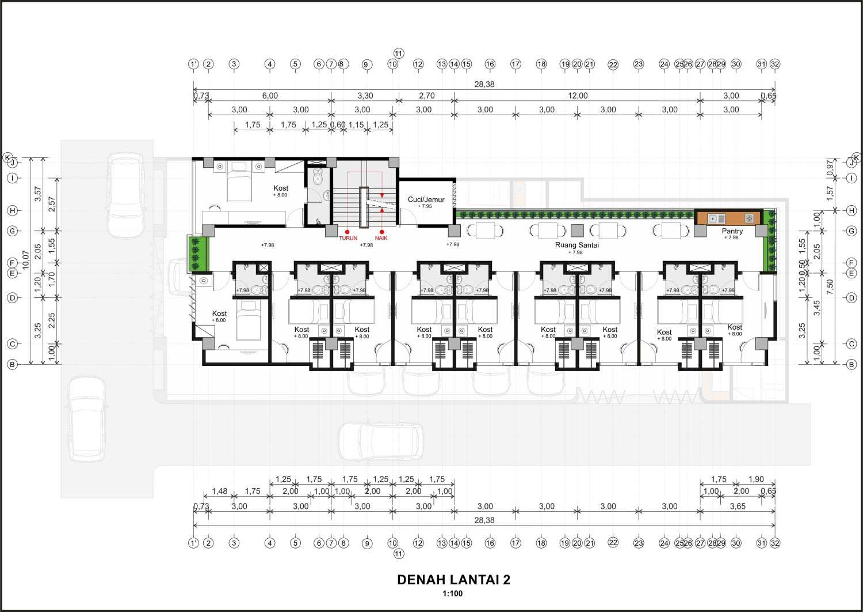 Hendra Budi Architect Wisma Sarjana Yogyakarta Yogyakarta Denah-Lantai-2  16375