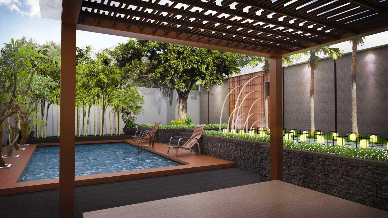 Hendra Budi Architect Privat House Klaten Klaten, Jawa Tengah Klaten, Jawa Tengah Swimming Pool Area Modern 16454