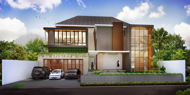 Hendra Budi Architect Privat House Klaten Klaten, Jawa Tengah Klaten, Jawa Tengah Front View Modern 16457