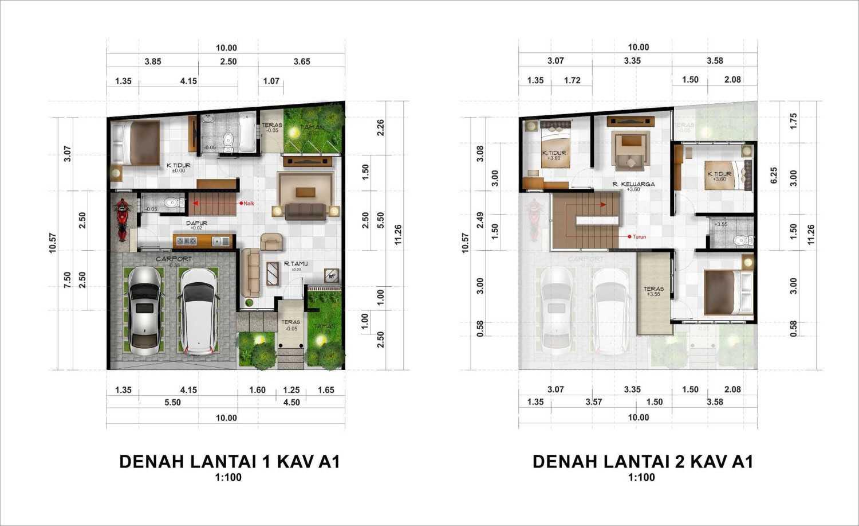 Hendra Budi Architect The Grand Vista Residence Yogyakarta Yogyakarta Kavling-A1  16938