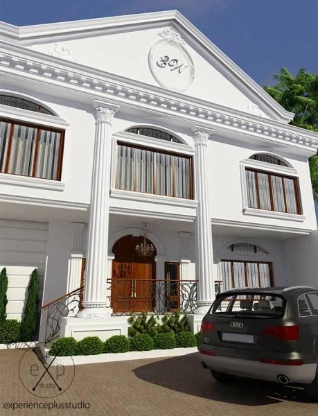 Experience Plus Studio  Cilandak House  Jakarta, Indonesia Jakarta, Indonesia Front-View Klasik 7100