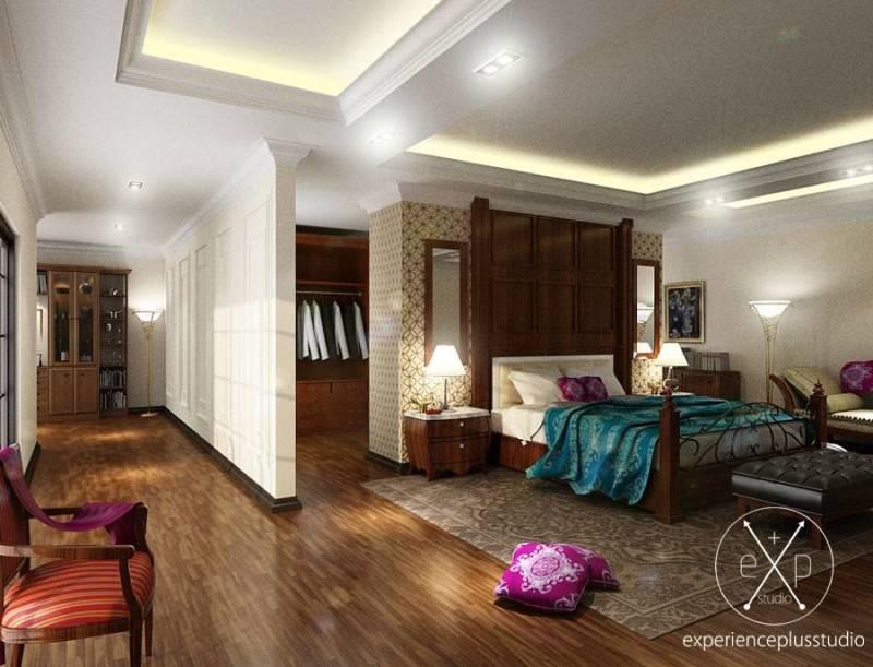 Experience Plus Studio  Cilandak House  Jakarta, Indonesia Jakarta, Indonesia Bedroom Klasik 7101