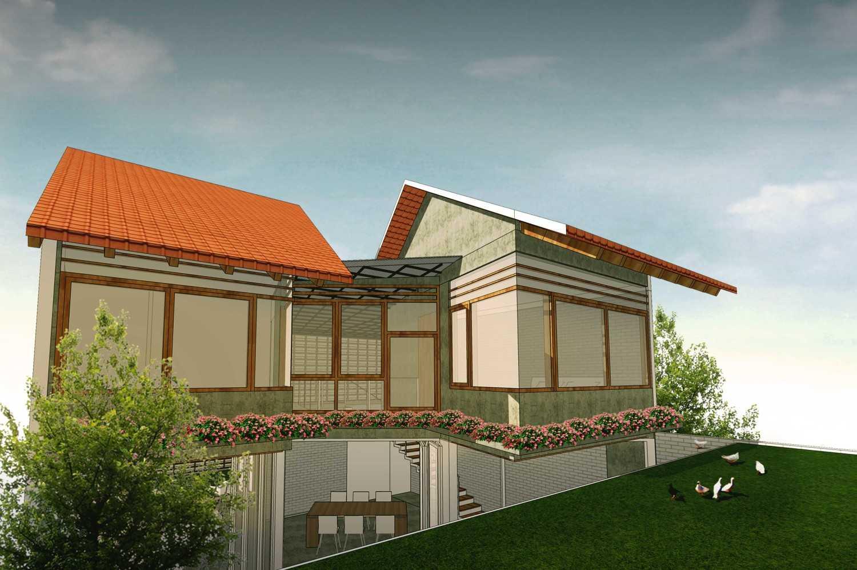 Foto inspirasi ide desain rumah asian 2 oleh Gilang Arenza di Arsitag