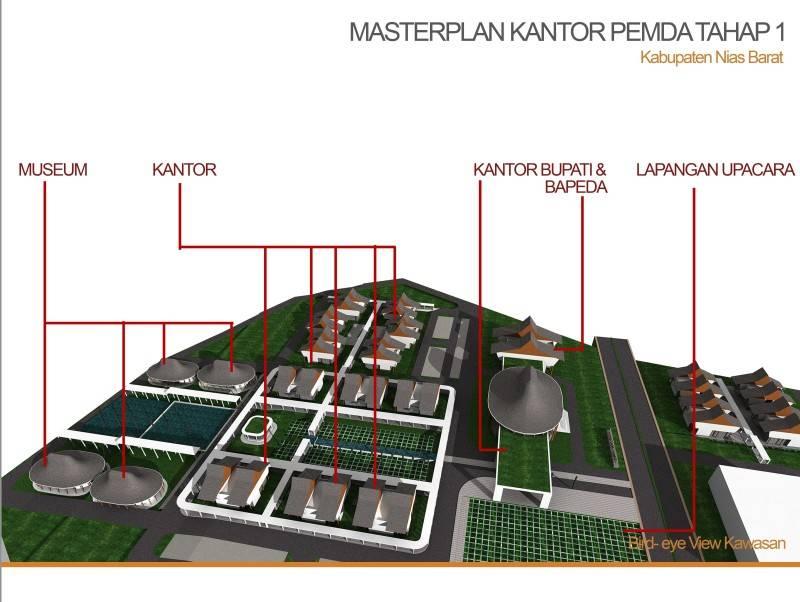 Pt. Daa Interplan Indonesia Masterplan Dprd Nias Barat Kabupaten Nias Barat Kabupaten Nias Barat Masterplan-Dprd-Nias-Barat-Bird-Eye  7241