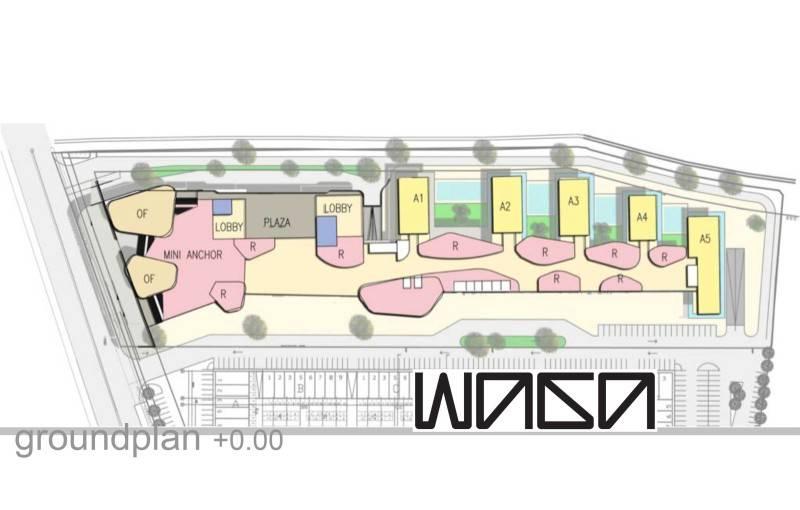 Waga Daan Mogot High Park Masterplan Jakarta, Indonesia Jakarta, Indonesia Groundplan Kontemporer 7320