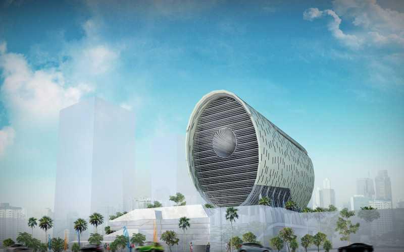 Waga Pejaten Mansion Masterplan Jakarta, Indonesia Jakarta, Indonesia Lemhanas-Front-View-2-800X500  12690