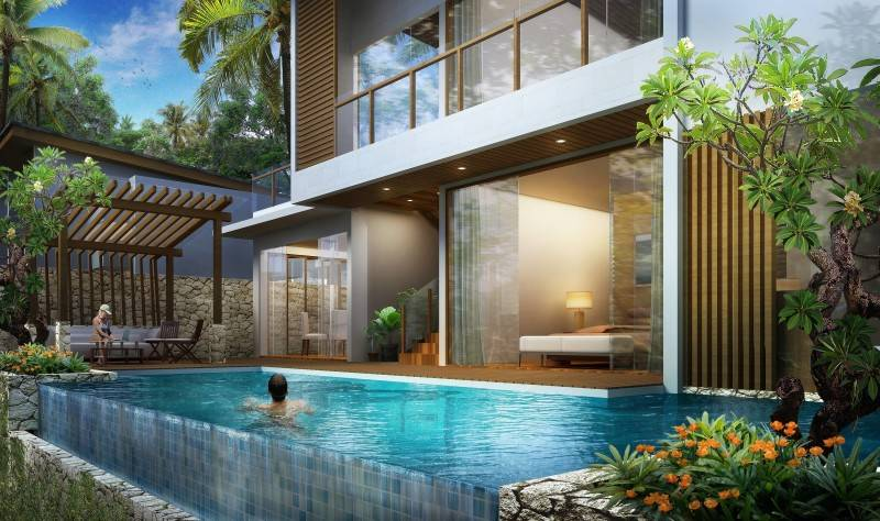 Kalayman Ribezzi Bali Bali View-Swimming-Pool  7376