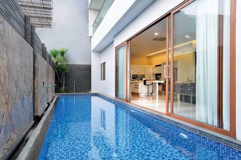 Studio Denny Setiawan Green Garden House Jakarta, Indonesia Jakarta, Indonesia Swimming-Pool  7403