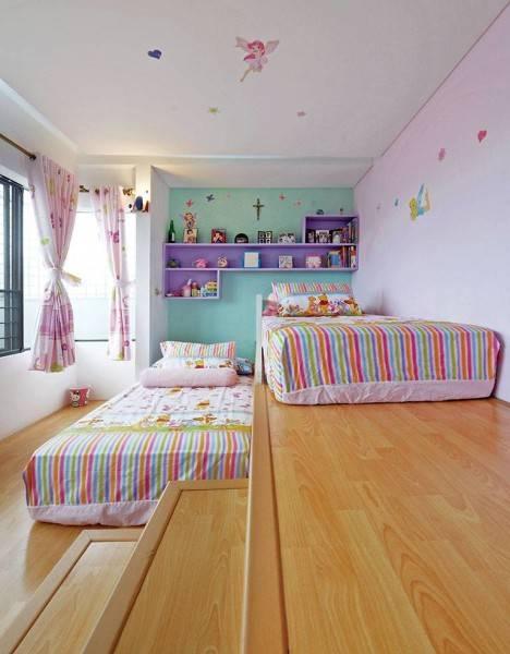 Studio Denny Setiawan Citra Garden House Jakarta, Indonesia Jakarta, Indonesia Daughter-Bedroom-View-2  7432