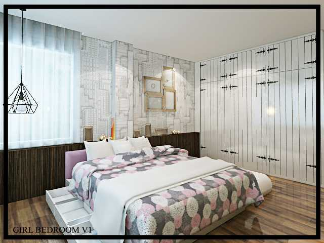 Budi Zhou Rumah Jemur Surabaya City, East Java, Indonesia Surabaya City, East Java, Indonesia Girl-Bedroom-V1-270716 Modern 32414