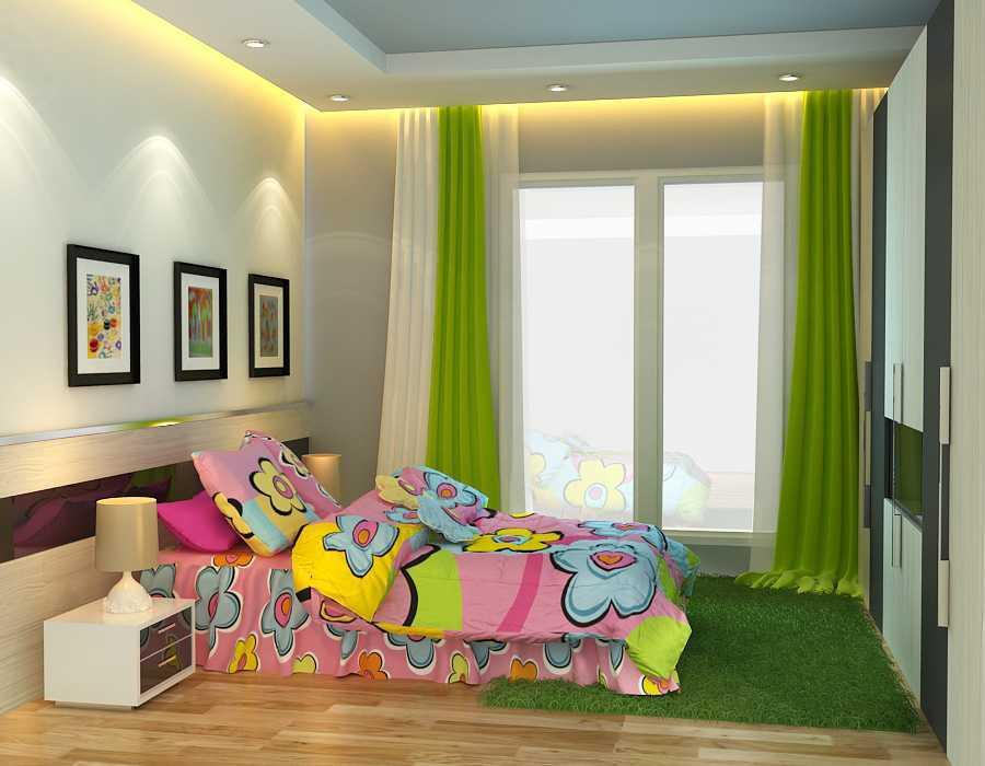 Foto inspirasi ide desain kamar tidur anak minimalis Kamar-anak-l1-c-final oleh alexander cal di Arsitag