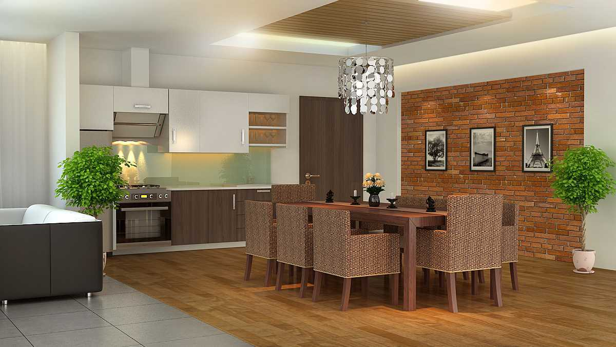 Alexander Cal Home Interior Design Gading Serpong Gading Serpong Dining-Room-L1 Tropis 13460