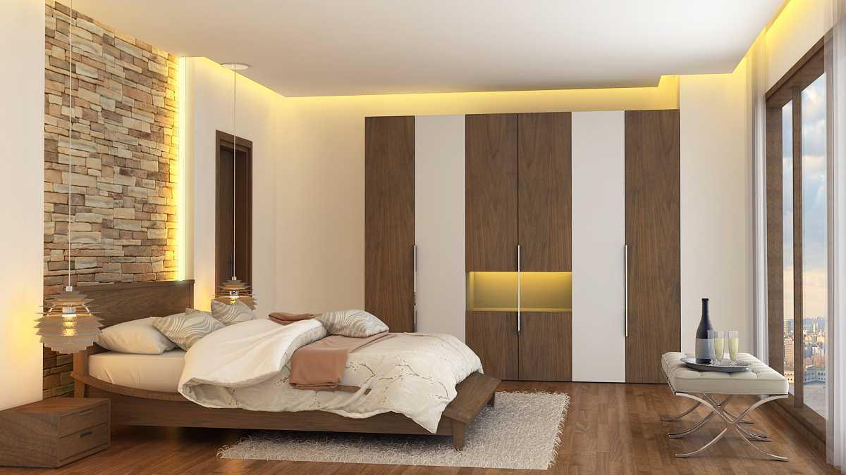 Alexander Cal Home Interior Design Gading Serpong Gading Serpong Master-Bedroom-3-Final Kontemporer 13464