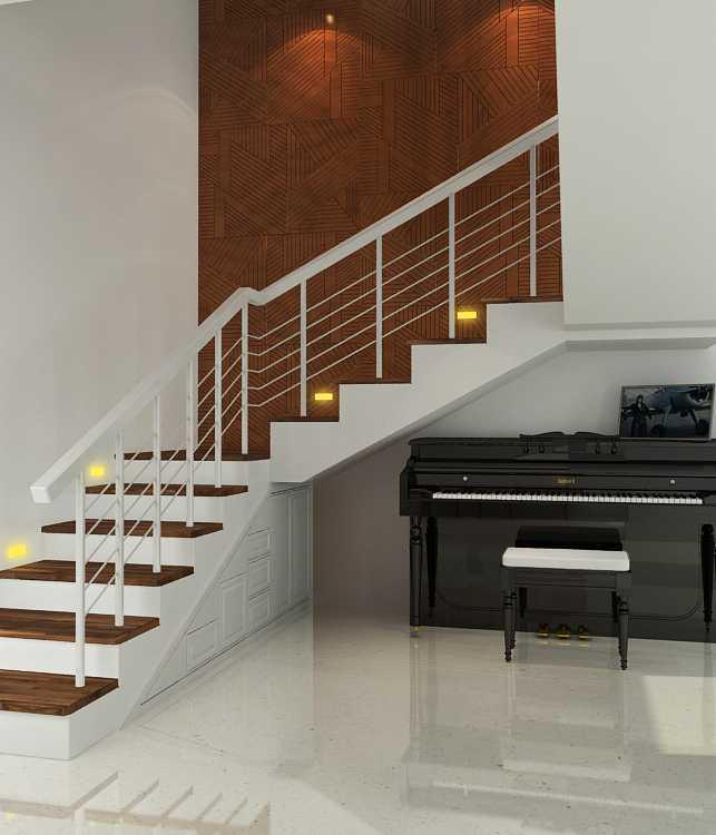 Alexander Cal Home Interior At Kelapa Gading Jakarta Jakarta Wall Treatment Modern 28429