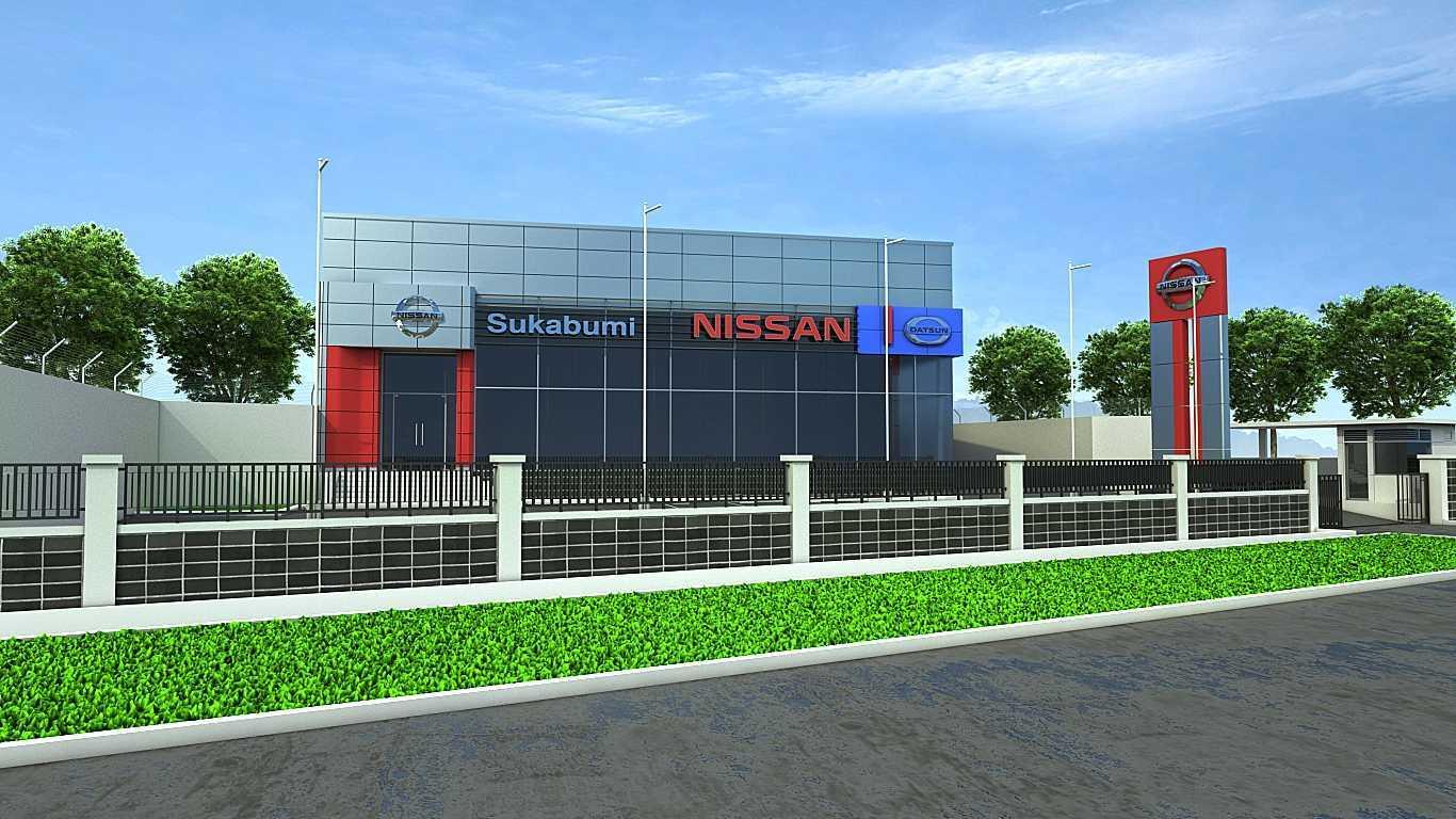 Terra Agung Showroom & Service Nissan Sukabumi Sukabumi Sukabumi Nissan-Sukabumi-View-1 Minimalis 28655