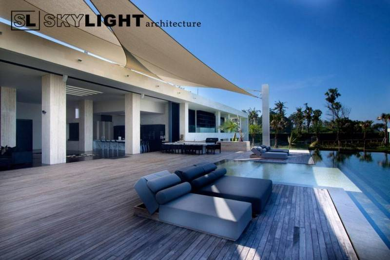 Skylight Architecture Berawa Residence Tibubeneng, North Kuta, Badung Regency, Bali, Indonesia Bali, Indonesia Pool-Deck  7604