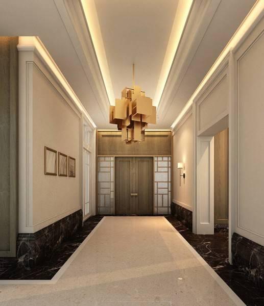 Foto inspirasi ide desain pintu masuk klasik Entrance oleh Rieska Achmad di Arsitag