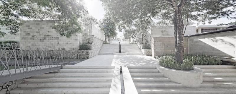 Foto inspirasi ide desain tangga minimalis The bale hotel oleh Antony Liu + Ferry Ridwan / Studio TonTon di Arsitag