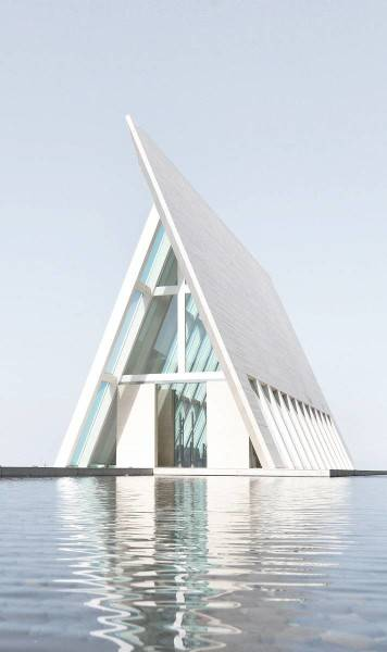 Foto inspirasi ide desain retail modern Facade oleh Antony Liu + Ferry Ridwan / Studio TonTon di Arsitag