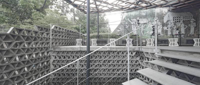 Antony Liu + Ferry Ridwan / Studio Tonton Kosenda Hotel Jl. Wahid Hasyim, Jakarta Jl. Wahid Hasyim, Jakarta Stairs To Entrance Modern 7934