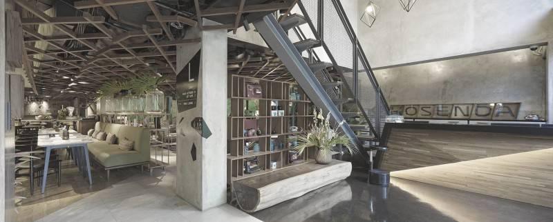 Antony Liu + Ferry Ridwan / Studio Tonton Kosenda Hotel Jl. Wahid Hasyim, Jakarta Jl. Wahid Hasyim, Jakarta Receptionist Area Modern 7936