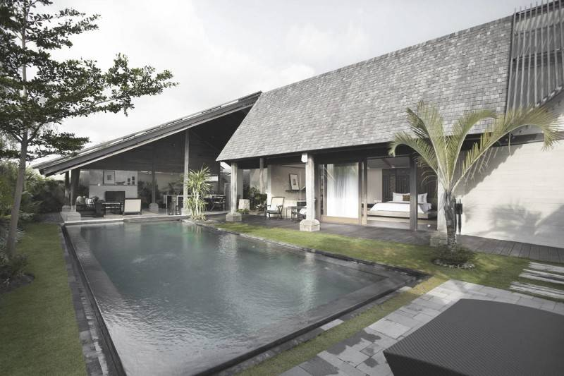 Antony Liu + Ferry Ridwan / Studio Tonton Ametis Villa Canggu, Bali Canggu, Bali Swimming Pool Area Modern 7984