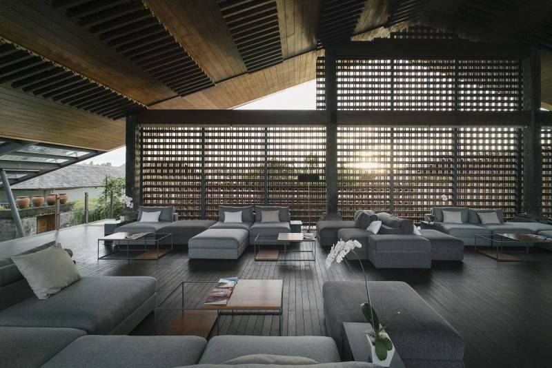 Antony Liu + Ferry Ridwan / Studio Tonton The Santai Umalas, Bali, Indonesia Umalas, Bali, Indonesia Seating Area Modern 7996