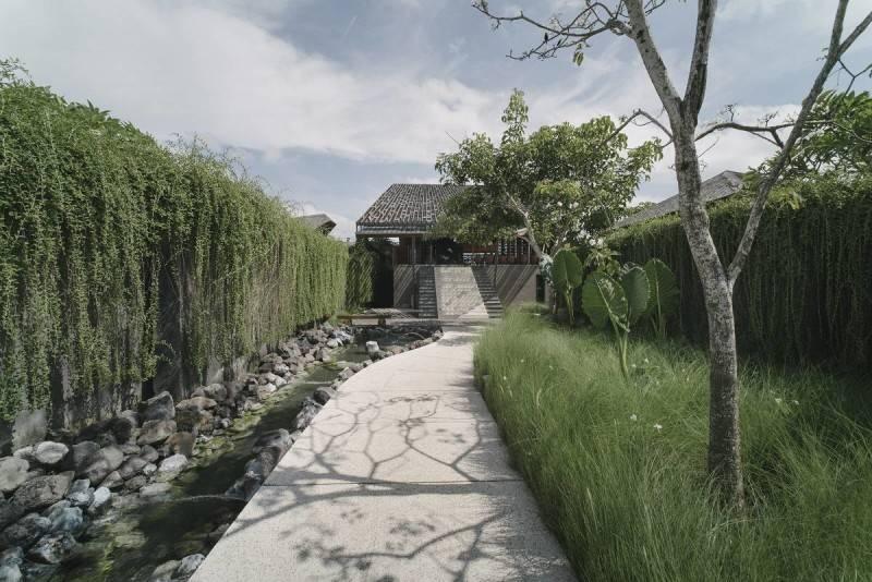 Antony Liu + Ferry Ridwan / Studio Tonton The Santai Umalas, Bali, Indonesia Umalas, Bali, Indonesia Walkway Modern 8005