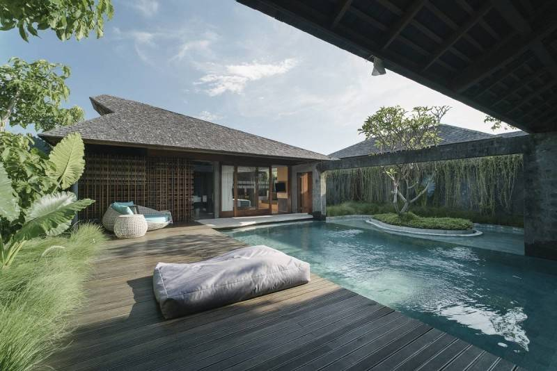 Antony Liu + Ferry Ridwan / Studio Tonton The Santai Umalas, Bali, Indonesia Umalas, Bali, Indonesia Swimming Pool Area Tropis 8007