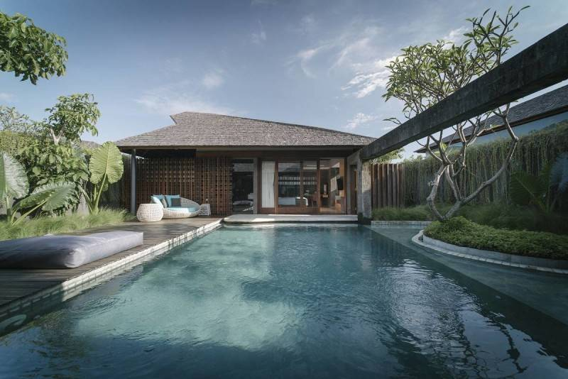 Antony Liu + Ferry Ridwan / Studio Tonton The Santai Umalas, Bali, Indonesia Umalas, Bali, Indonesia Swimming Pool View Tropis 8008