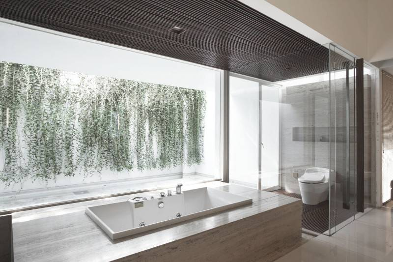 Antony Liu + Ferry Ridwan / Studio Tonton Ew House Serpong, Tangerang Serpong, Tangerang Ew House - Bathroom Modern 8106