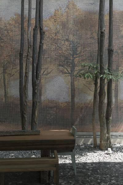 Foto inspirasi ide desain taman Js house - yard oleh Antony Liu + Ferry Ridwan / Studio TonTon di Arsitag