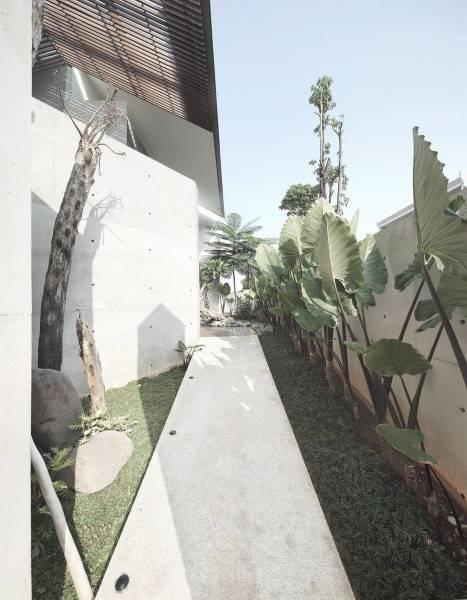 Foto inspirasi ide desain taman minimalis Garden oleh Antony Liu + Ferry Ridwan / Studio TonTon di Arsitag