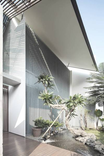Antony Liu + Ferry Ridwan / Studio Tonton Mm House Permata Buana, Jakarta, Indonesia Permata Buana, Jakarta, Indonesia Exterior Details Modern 8147