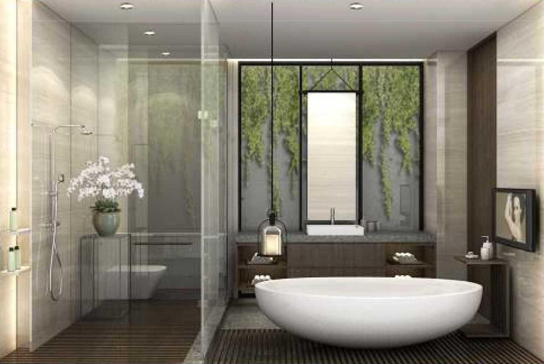 Foto inspirasi ide desain kamar mandi minimalis Bathroom oleh CHRYSTALLINE artchitect di Arsitag
