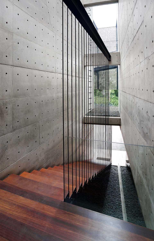 Chrystalline Artchitect Ampera Six Building Jakarta, Indonesia Jakarta, Indonesia Stairs Modern 8450