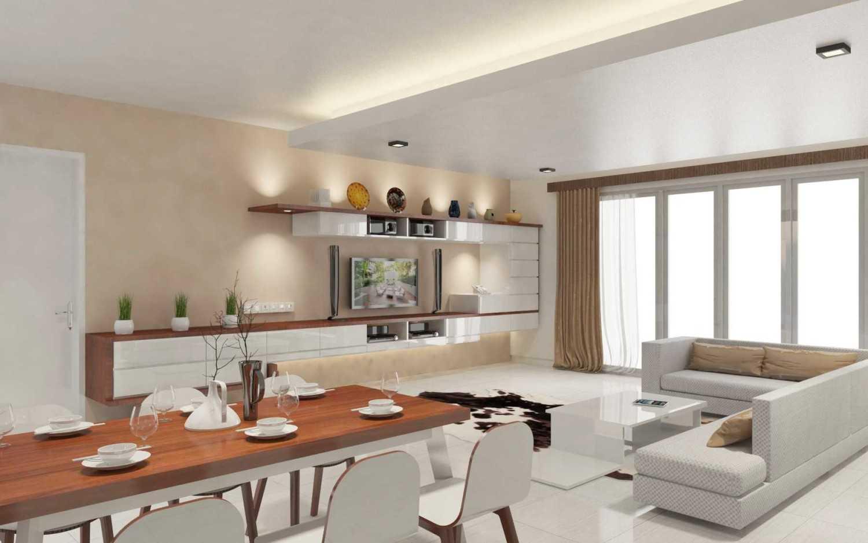 Cocobolo Studio Permata Hijau Residence Jakarta, Indonesia Jakarta, Indonesia Livingroom And Dining Area  8338