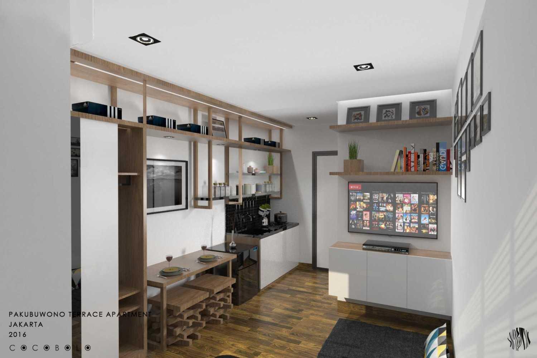 Cocobolo Studio Mj's Apartment Pakubuwono Apartment, Jakarta Pakubuwono Apartment, Jakarta Livingroom Minimalis 12270