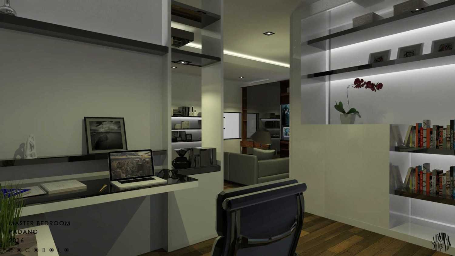Cocobolo Studio D House Padang, Indonesia Padang, Indonesia Work Area Minimalis,modern 18261