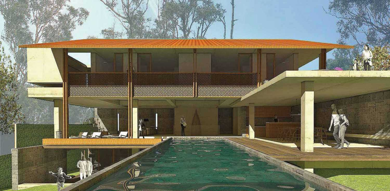 Platform Architects Canggu Villa Bali, Indonesia Bali, Indonesia Swimming-Pool  8408