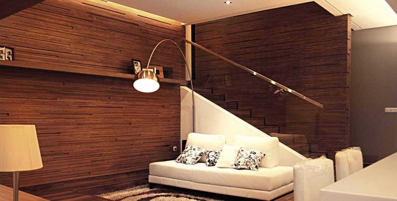 Foto inspirasi ide desain rumah Living area oleh Platform Architects di Arsitag