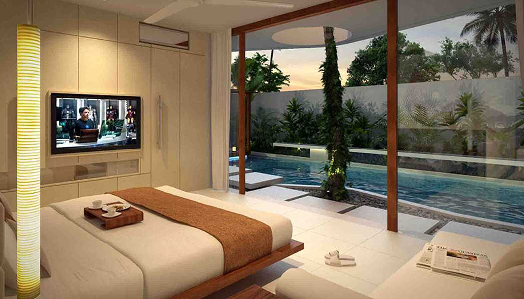 Imago Design Studio Canggu Villas Canggu, Bali Canggu, Bali Bedroom Tropis 8880