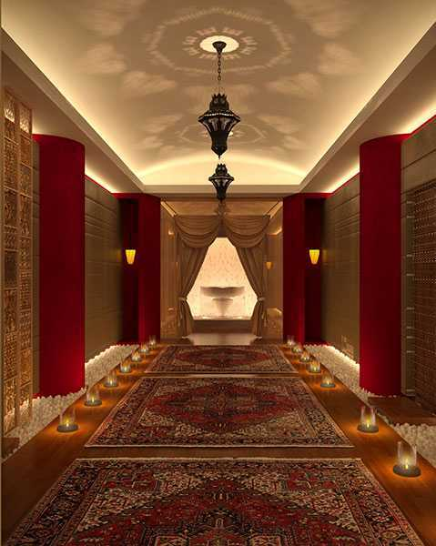 Imago Design Studio Chantara Spa Doha Doha, Qatar Doha, Qatar Corridor  8894