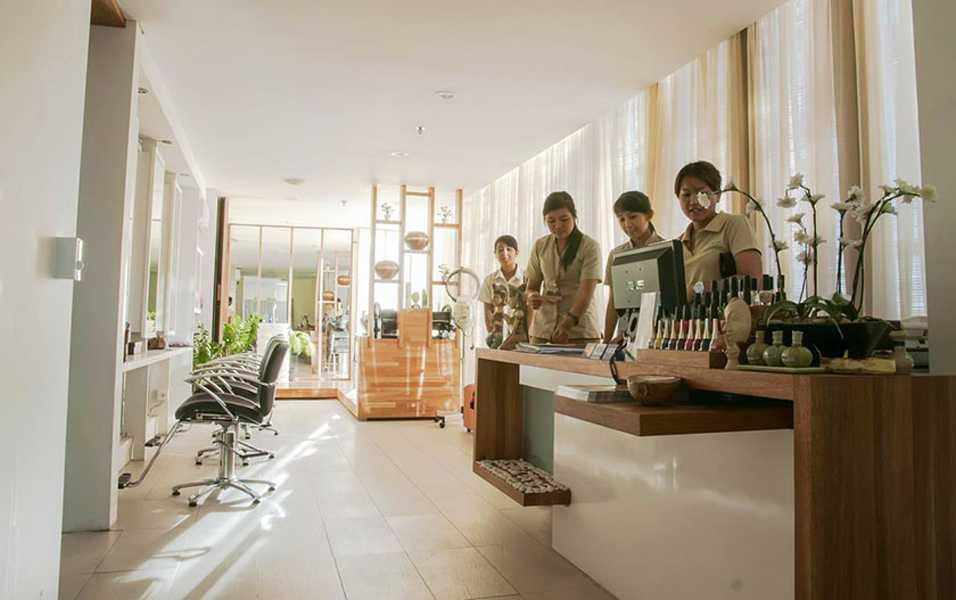 Imago Design Studio De Nyuh Spa At Grandmas Hotel Seminyak Seminyak, Bali Seminyak, Bali Cashier Kontemporer 8902